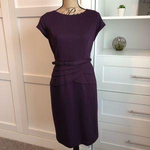 Vintage Inspired Evan Picone Purple Dress